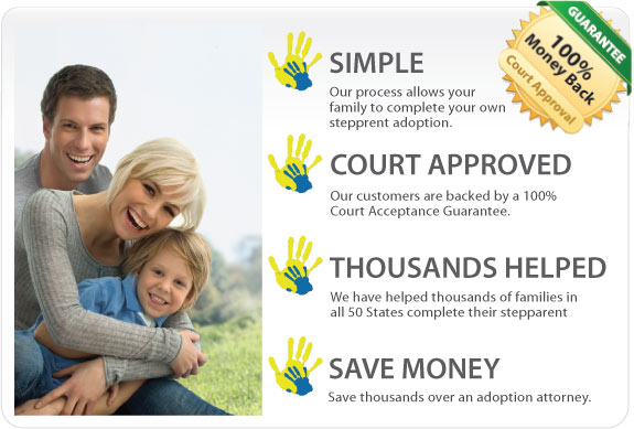 Step parent adoption to adopt your stepson or stepdaughter in Ontario